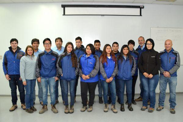 Minera Candelaria inició Programa de educación DUAL 2017 para estudiantes de liceo de Tierra Amarilla