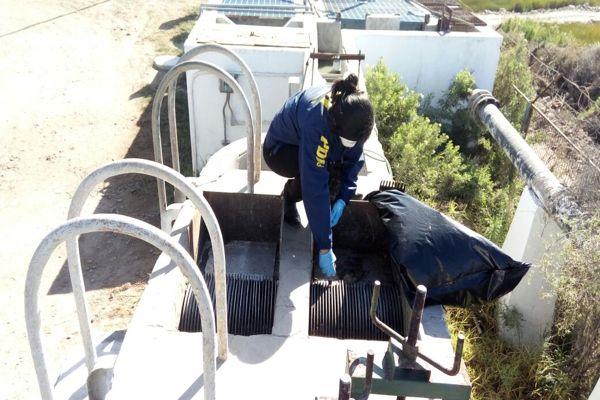PDI investiga hallazgo de feto en la planta de tratamiento de agua en Freirina