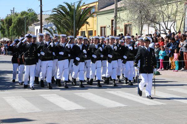 Armada conmemora día de las Glorias Navales