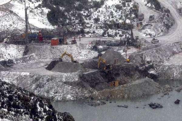"""Nuevo sondaje busca """"pinchar"""" zona del refugio para Rescate de Mineros:"""