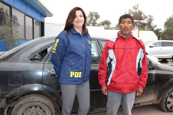 PDI recupera vehículo sustraído por sujetos que interceptaron a victimas en Copiapo