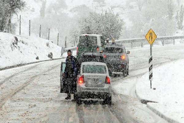 Este sábado se espera la mayor nevada de una década en Santiago