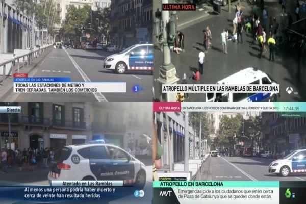 Aumenta a 14 la cifra de fallecidos de los dos atentados en Cataluña