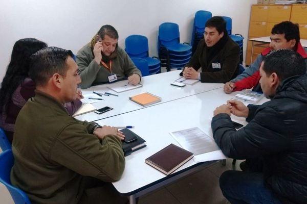 Reunión de trabajo y coordinación interinstitucional