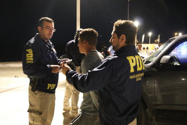 PDI Atacama detiene a un ex reo que amenazo de muerte a dos gendarmes en Chañaral