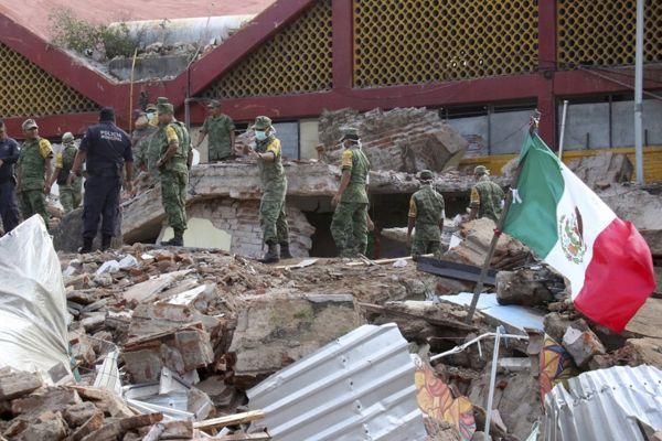 Terremoto de 8,2 en México deja al menos 60 muertos y 200 personas heridas