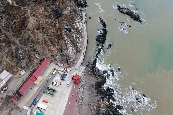 Dirección Obras Portuarias del MOP, inaugura renovada Caleta en Pan de Azúcar