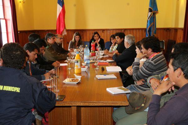 BIDEMA de Copiapo comienza plan de trabajo para la protección del Patrimonio de caldera