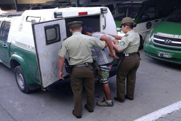 Adolescente de 16 años fue detenido nuevamente por carabineros