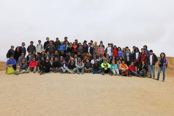 Estudiantes de Geología del país visitan Caldera
