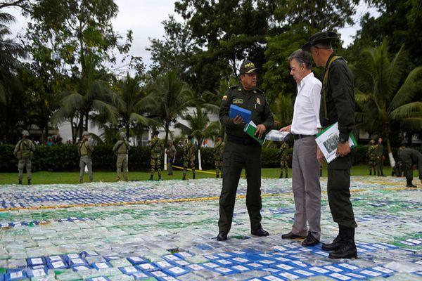 Colombia decomisa el mayor cargamento de cocaína en su historia