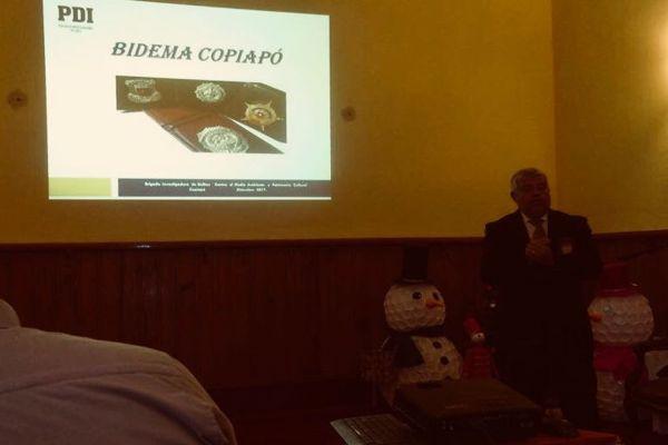 PDI expone capacitación en la comuna de Caldera