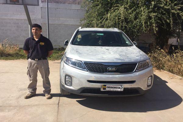PDI Chañaral recupera vehículo avaluado en 11 millones de pesos