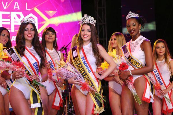 Joven de Temuco es la reina de playas y piscinas de Chile