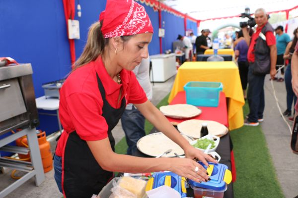 Caldera tuvo el primer encuentro nacional de maestros pizzeros