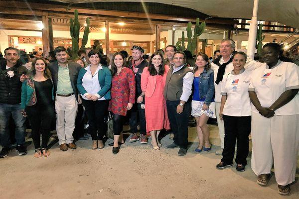 """Inauguran el IV Festival Internacional de Gastronomía Bahía Inglesa 2018 """"Cocinas del Pacífico"""""""