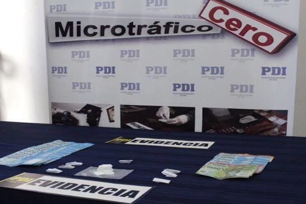 PDI Vallenar detiene a cuatro personas por microtrafico