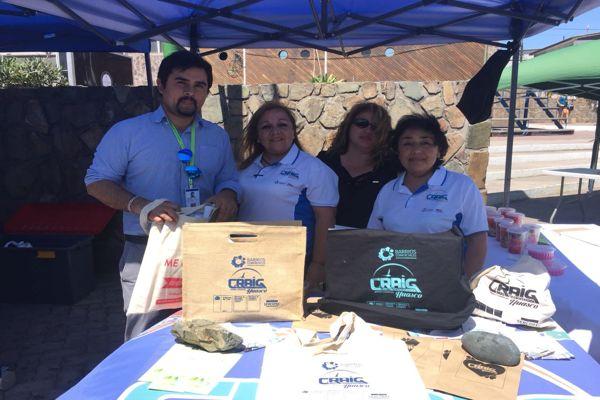 Gobierno y Barrio Comercial Craig entregaron 850 bolsas reciclables a la comunidad de Huasco