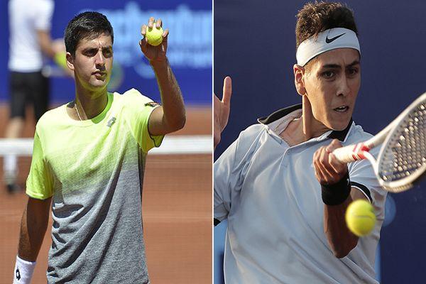 Barrios y Tabilo, los jóvenes tenistas que podrían aportar para que Chile llegue al Grupo Mundial de la Davis