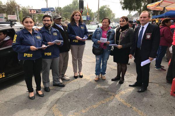 PDI lanza campaña contra el femicidio