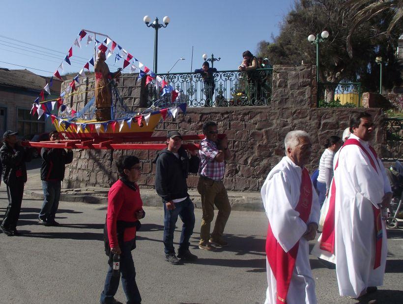 Chañaralinos conmemoraron a San Pedro