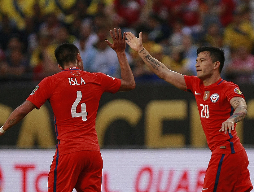 """Charles Aránguiz y la final ante Argentina: """"Llegan los dos mejores"""""""