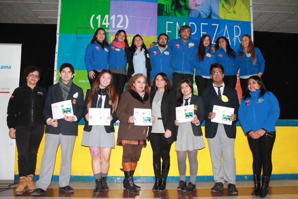 Senda Atacama desarrolló segundo Conversatorio de Jóvenes ¨Yo También Quiero Prevenir¨