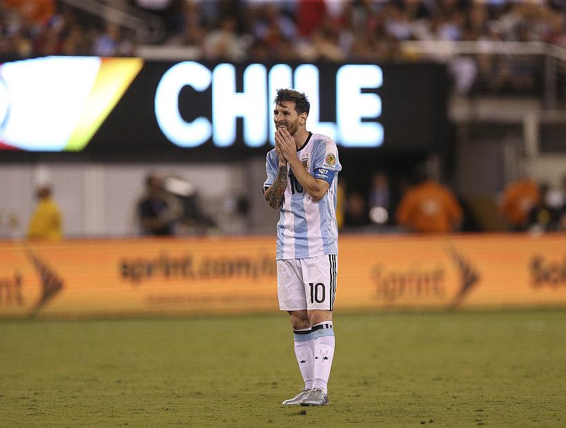 No va más: Lionel Messi renunció a la selección de Argentina