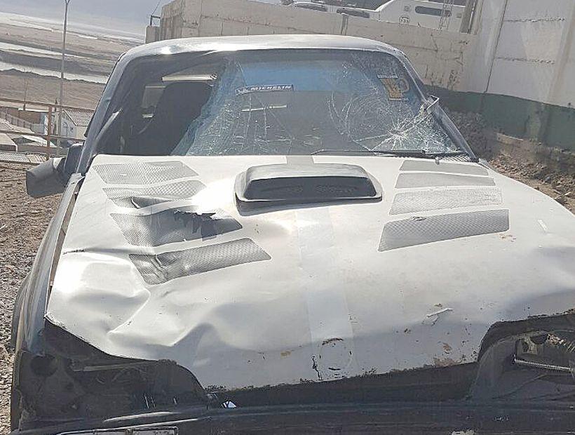 Con arresto domiciliario total quedó conductor que participó en fatal atropello en Chañaral