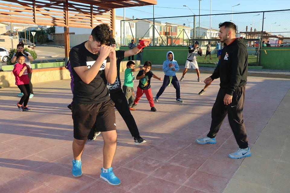 Corporación Municipal de deportes realiza actividades.
