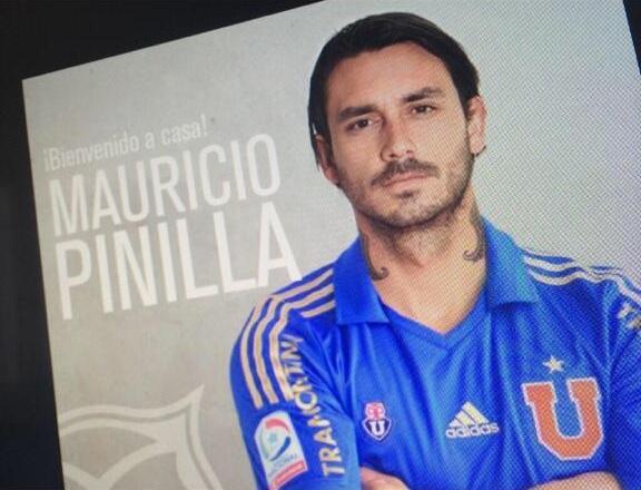 Mauricio Pinilla, la última obsesión de Carlos Heller para la 'U'