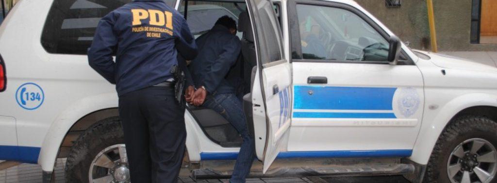 PDI detiene a delincuente prófugo de la justicia