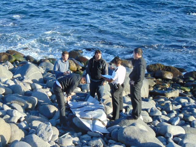 joven  muere ahogado en Caldera