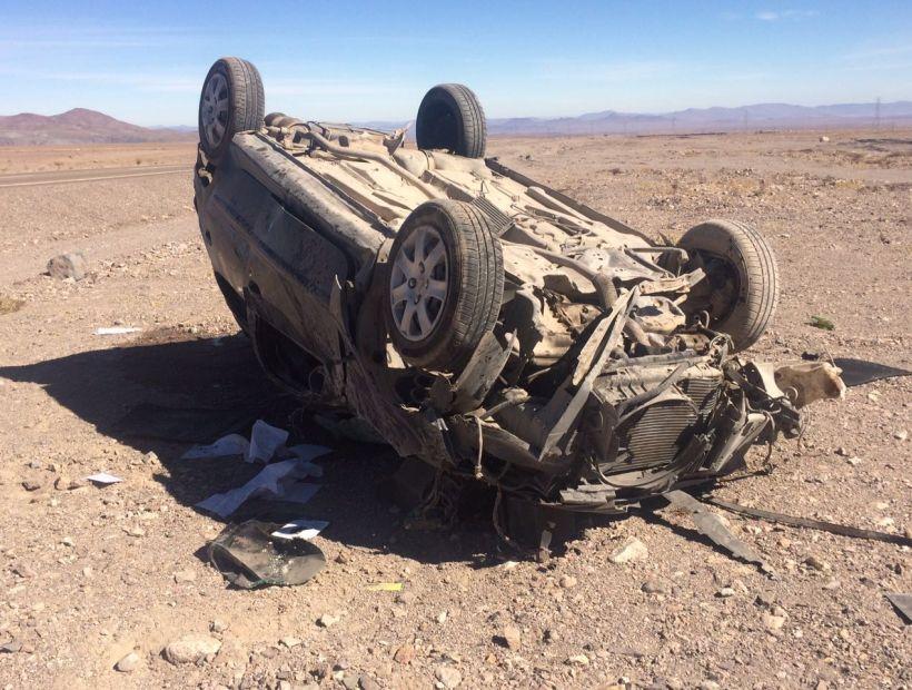 Mujer fallece en accidente carretero en Diego de Almagro