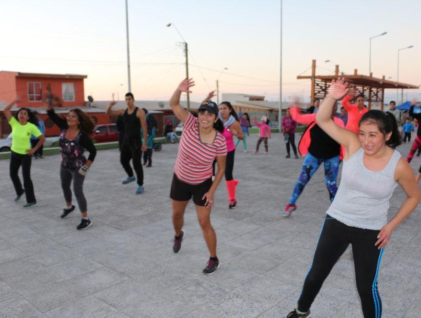 Calderinos realizan deportes al aire libre en nuevos espacios