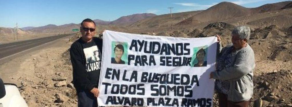Comenzó campaña para encontrar al bombero Alvaro Plaza Ramos desaparecido en aluvión