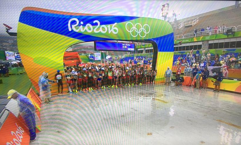 Tres chilenos Víctor Aravena, Daniel Estrada y Enzo Yáñez participan en la Maratón de Río 2016