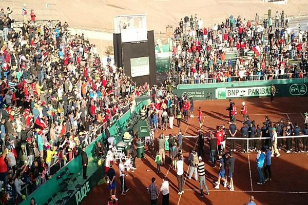 Federación Chilena de Tenis aclara monto de sanción tras Copa Davis ante Colombia