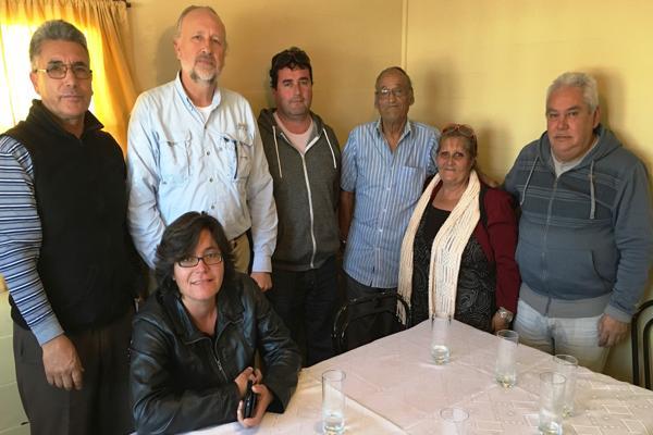 Prokurica sostuvo reunión de trabajo con afectados por minas antipersonales de la Comuna de Caldera