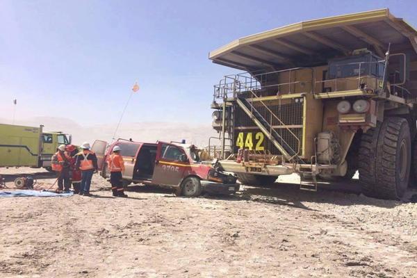 Accidente en Chuquicamata deja dos fallecidos