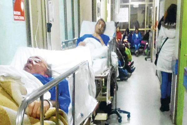 Sobrecarga de hospitales se debe a un nuevo aumento de enfermedades respiratorias informo la ministra de salud