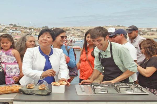 Caldera este sabado será protagonista del programa «Los Reyes del Mar» de TVN