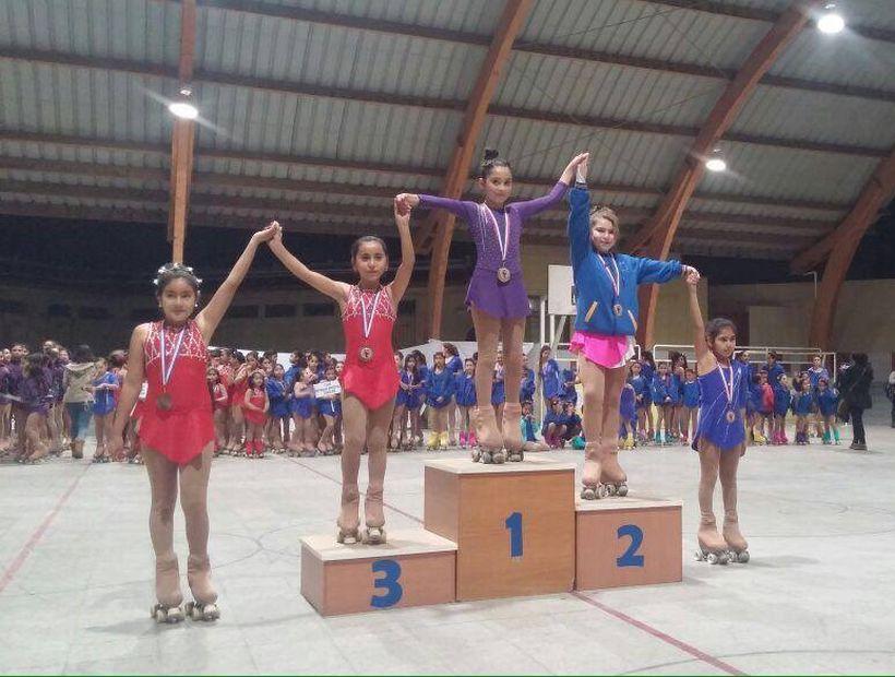 En Copiapó se realizo campeonato de patinaje artístico