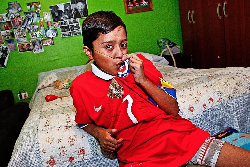 El niño copiapino que espera trasplante está en extrema gravedad