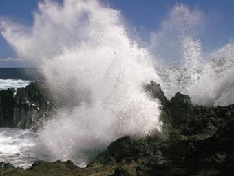 Avisos de marejadas para Caldera