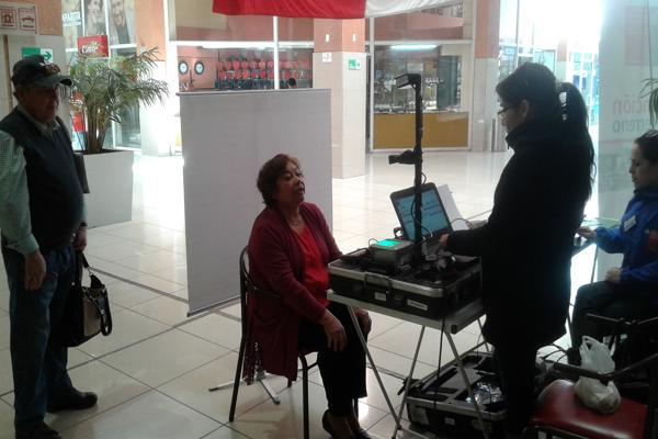 Registro Civil atendió en Mall Plaza Real de Copiapó