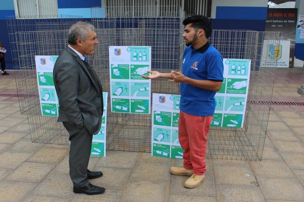Taltal lanza campaña para reciclar envases de plásticos