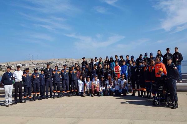 Realizan jornada de limpieza de playas en el sector Playa Brava y Mansa en Caldera