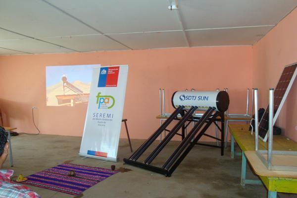 Se realiza apertura de proyectos energéticos en comunidades indígenas de la Comuna de Alto del Carmen