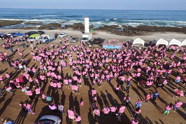 Más de 3 mil personas participaron de la Corrida por la Vida en Antofagasta
